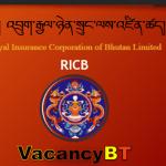 RICB Vacancy 2019 www.ricb.bt