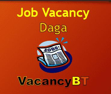 Job Vacancy inDaga 2019