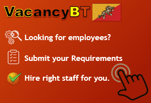 Find right employee for your business in Bhutan