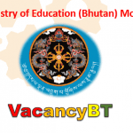 www.education.gov.bt jobs vacancy 2019