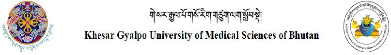 www.kgumsb.edu.bt Vacancy 2020