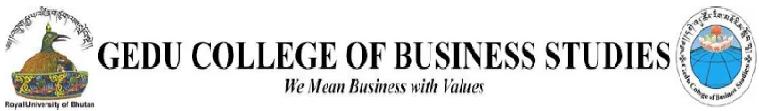 www.gcbs.edu.bt Vacancy 2020