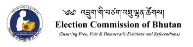 www.ecb.bt Vacancy 2021