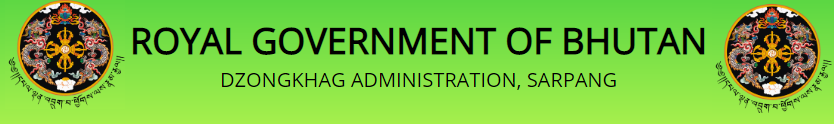 www.sarpang.gov.bt Vacancy 2021